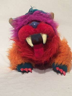 Vintage Toy 1986 My Pet Monster GWONK Plush Hand Puppet by Amtoy