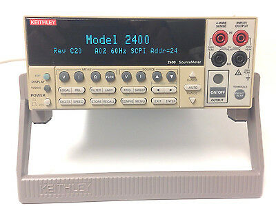 Keithley 2400, 200V, 1A, 20W SourceMeter