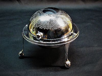 Made in England Roll-Top Butter/Candy Dish