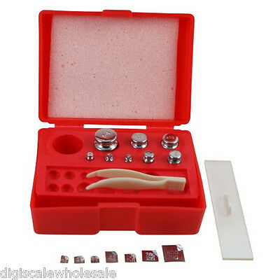 Test Weight Kit for Digital Scale Calibration Set OILM Class M2 American Weigh