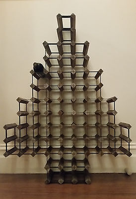 One-of-a-kind gorgeous wine rack