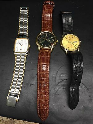 Lot Of Three Men's Watches