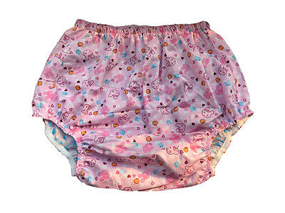 Haian Adult Incontinence Pull-on PVC & Print Cotton Pants