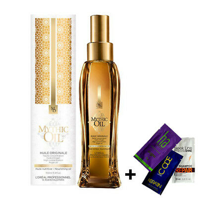 L'OREAL Professionnel MYTHIC OIL HUILE ORIGINAL NOURISHING OIL 100ml + GIFT