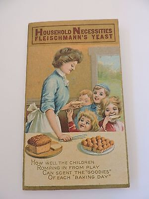 Fleischmann's Yeast Needlebook Vintage Advertising