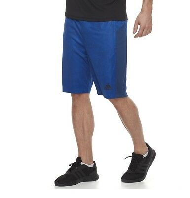 NWT Men's adidas ClimaLite Shorts Blue/Black