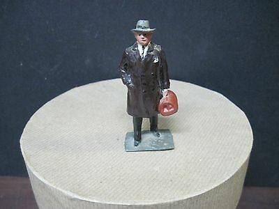 Manoil/barclay Metal Figures-Civiliians-Man Walking With Medical Case