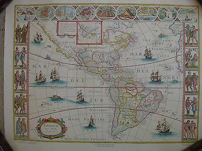 Cadbury Two sided Old Jamaica  and America map