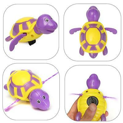 The new swimming pool toy animal baby turtle baby bath time  {