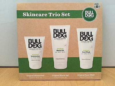 Bulldog Original Skincare Trio Gift Set for Men - NEW