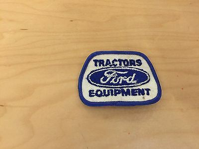 ford tractor equipment patch, new old stock,1970's
