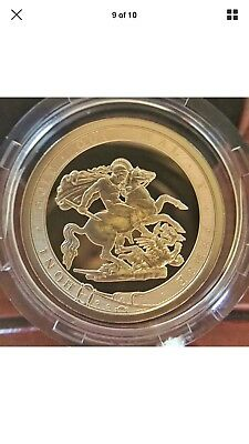 ROYAL MINT 200th Anniversary The Sovereign 2017 Strike on the Day Gold Coin