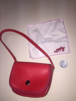 American Girl Molly's Accessories- Red Bag, Handkerchief & Penny