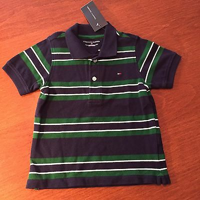 Tommy Hilfiger Toddler Boys Striped Polo Shirt - Size 3T - NWT