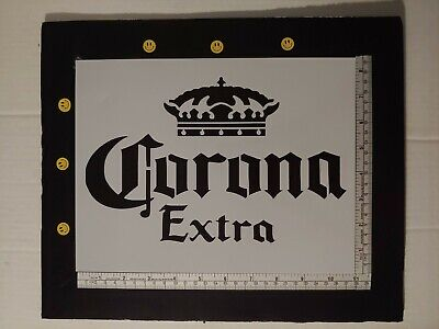 "Busch Light Beer 11/"" x 8.5/"" Stencil FAST FREE SHIPPING"