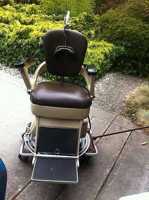 Bausch & Lomb Ophthalmic Chair and Stand, Vintage; also, AO NCT