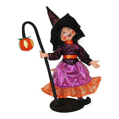 """ANNALEE ~ 2014 ~ Halloween ~ 10"""" ~ """"Light The Way Witch Witch"""" ~ #302214 ~ NWT"""
