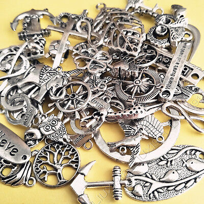 Wholesale Retro Mixed Beads Charms Pendants Spacer beads DIY Jewelry Making /928