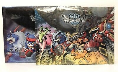Digimon Adventure  Lot Of 2 Licensed A4 File Folders New