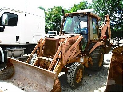 580K case backhoe