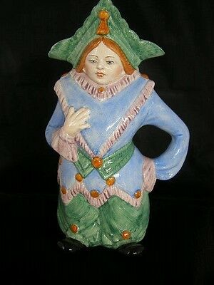 Continental Toby Jug In The Form of A Woman From Holland 11""