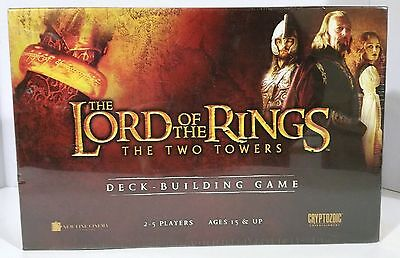 NEW - 2013 The Lord of the Rings - The Two Towers - Deckbuilding Game