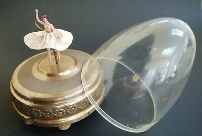 Vintage Swiss Cody Music Box Ballerina Pre Reuge Automaton Video Available