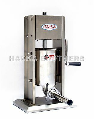Hakka 3L Sausage Stuffer Vertical Stainless Steel 3Lb-7Lb Meat Filler