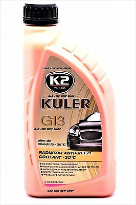 G13 PINK ANTIFREEZE COOLANT CAR Radiator LONG LIFE 5 Years Protection 1L
