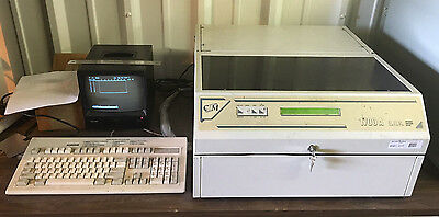 AES 1700A Plate Embossing Machine WORKS GREAT!!! Dog Tags Marking Automotive