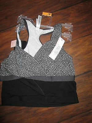 Gilligan & O'Malley size M nursing sleep bras NEW WITH TAGS!!!!!!!!!!!!
