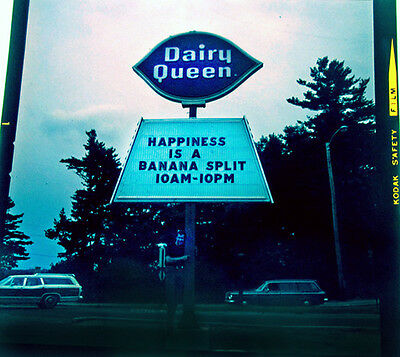 1970 Daily Queen Sign Pete Phinney by Van Williams Photo Transparency