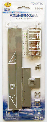 Tomytec BS-001 Moving Bus System Bus Stop Unit Set A 1/150 N scale