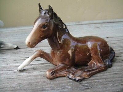 Vintage Beswick Horse Foal Colt Figurine Numbered 915