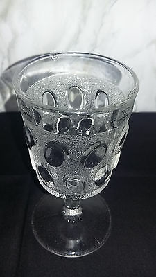 ANTIQUE EGG IN SAND PATTERN BEAVER FALLS GLASS Co, circa 1888 EXCELLENT COND