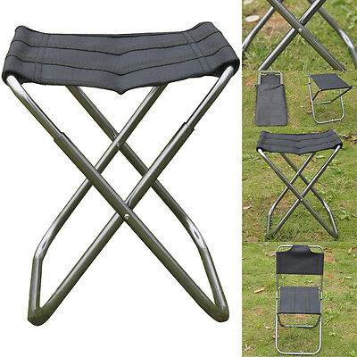 Folding Outdoor Portable Chair Seat Stool Camping Fishing Picnic Beach Lawn Hot