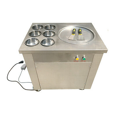Fried Ice Machine Fried Ice Cream Machine Roll Ice Cream Making Machine Hot NEW