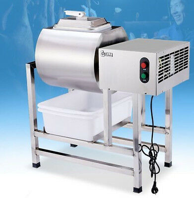 Update Stainless Steel Meat Salting Machine/Meat Poultry Tumbler Machine 25L