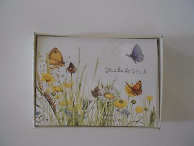 Marjolein Bastin Nature's Sketchbook 10 Thank you Note New