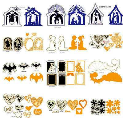 Cutting Dies Stencil Scrapbooking Embossing Album Paper Card Craft Free Shipping