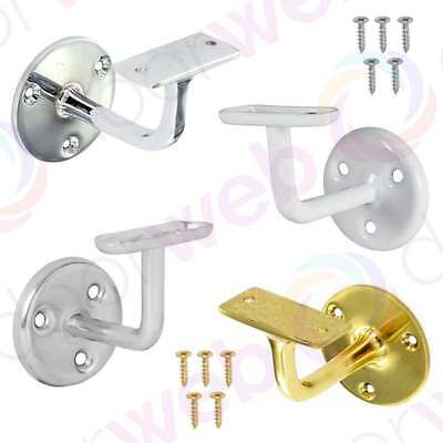 HANDRAIL BRACKET Bannister Support Stair Rail Balustrade Fixing Wall Mounted