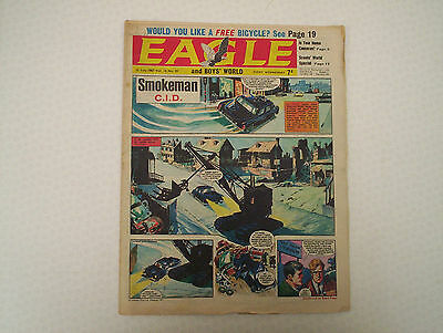 "EAGLE Comic Vol.18 # 29. Date July1967. Cutaway of a ""General Sheridan"" Tank"