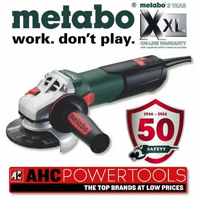Metabo W9-115 Quick 900w Angle Grinder 240V