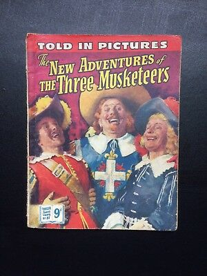 1950's Thriller Comics Library No:81 -The New Adventures Of The Three Musketeers