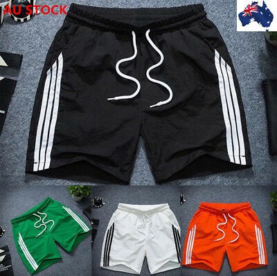 Mens Quick Dry Short Pants Board Surf Shorts Boardshorts Jogger Beach Trousers