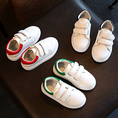 Child Toddler Baby Girl Boys Crib Shoes Leather Sneakers Soft Anti-slip Trainers
