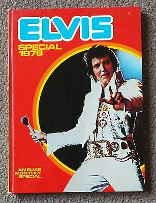 Elvis Presley - Collectable Vintage 1978 Special Annual - Book