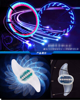 Rechargable Bike Light Bicycle Cycling Spoke Wire Tire Tyre Colorful LED Wheel