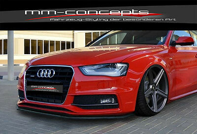 CUP Spoilerlippe für Audi A5 Typ B8 Facelift S-Line ab Bj. 11 Front Spoiler IN