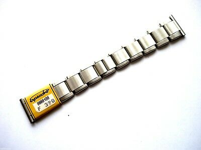 Bracelet elastoflex métal 22 mm montre watch band strap vintage chrono 5120